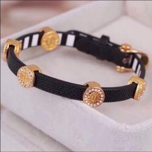 Henri Bendel NWOT Black & Gold Carlyle Bracelet